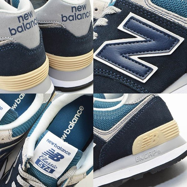 メンズ 紳士 男性 シューズ 靴 new balance 574 ニューバランス ウォーキング ML574ESP ML574ESR ML574ESS スニーカー bearfoot-shoes 10