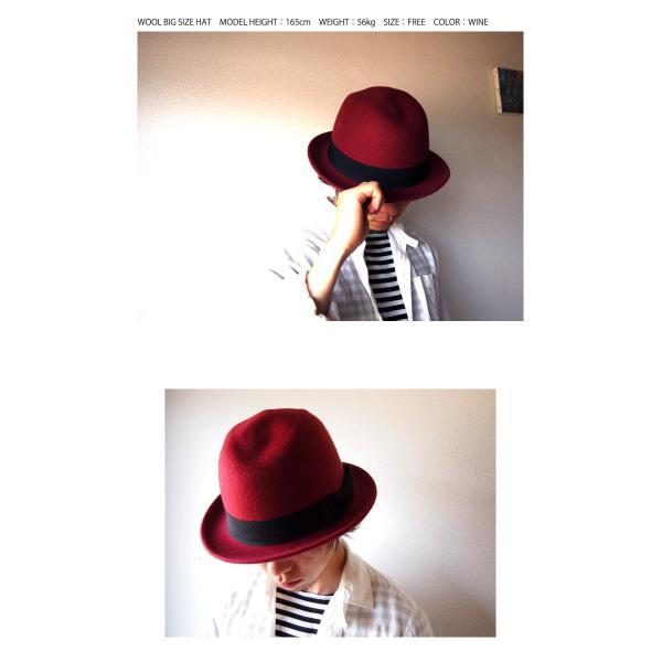ハット フェルトハット 中折れハット サファリハット 帽子 メンズ レディース|beatjive801|06