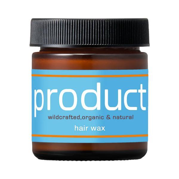 ザ プロダクト オーガニック ヘアワックス スタイリング ボディクリーム 乾燥肌への保湿ケアにも♪ 42g 1個 国内正規品 送料無料の画像