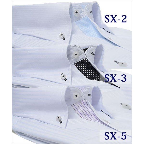 メンズ ワイシャツ 通販 スリム s - 3l 大きいサイズ 安い ドレスシャツ ビジネス ボタンダウン カッターシャツ おしゃれ 長袖  /ysh-1005|beauty-ex|06
