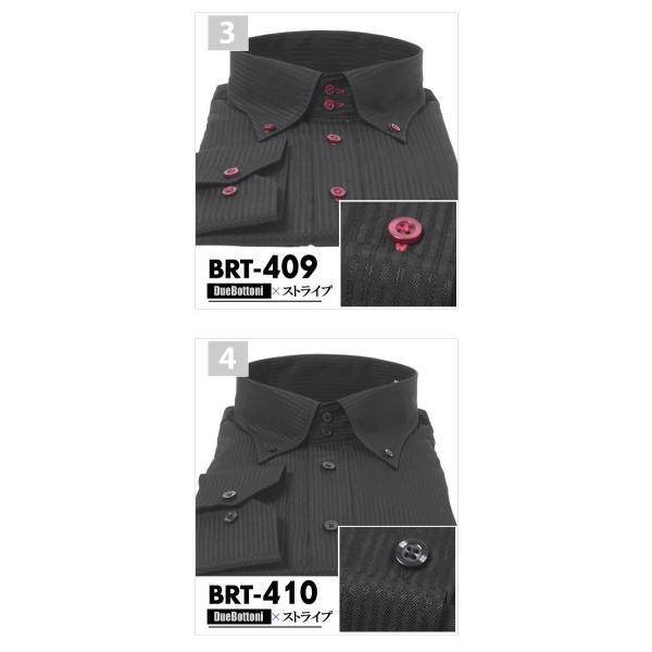 ワイシャツ 大きいサイズ 黒 3L 4L 5L 6L おしゃれ 結婚式 ボタンダウン ブラックシャツ メンズ カッターシャツ ドレスシャツ|beauty-ex|05
