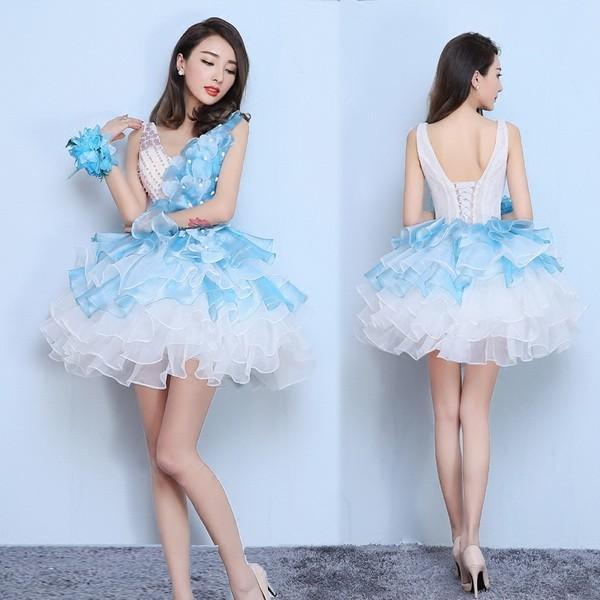 可愛い ウエディング ドレス
