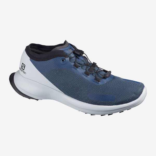 サロモンSALOMONセンスフィールトレイルランニングシューズ サイズ:28.0cm  カラー:ダークデニム×パープルブルー #
