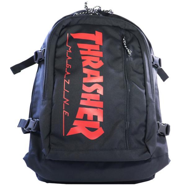 スラッシャー バックパック 30L [カラー:ブラック×レッド] #THR-101-9010 Backpack 30L THRASHER