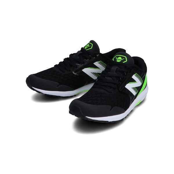 ニューバランス NB HANZO J ジュニア ランニングシューズ [サイズ:19.5cm] [カラー:ブラック×ライム] #YPHANZB3 NEW BALANCE