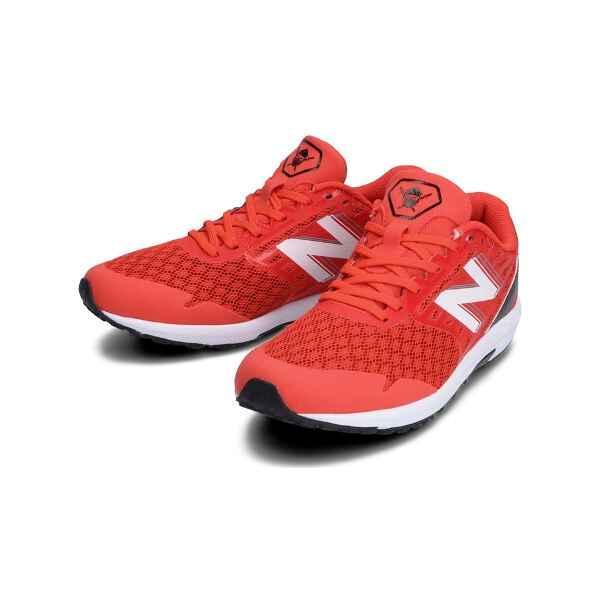 ニューバランス NEW BALANCE NB HANZO J ジュニア ランニングシューズ [サイズ:19.5cm] [カラー:レッド] #YPHANZD3