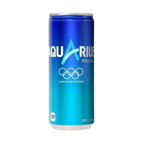 アクエリアス 250ml缶×30本 コカ・コーラ直送商品以外と 同梱不可 【D】【サイズD】|beautyhair