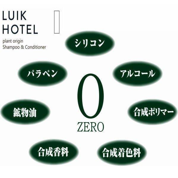 LUIK HOTEL シャンプー(ヒノキ)ノンシリコン ジャーナルスタンダード ファニチャー 300ml (送料無料) beautyhair 03