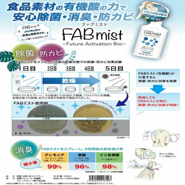 (セット)空間除菌 ウイルスシャットアウト 首掛けタイプ & 除菌 消臭 スプレーFAB ミスト 300ml ウィルス対策に 日本製  (送料無料)(在庫限り)(RSL)|beautyhair|03