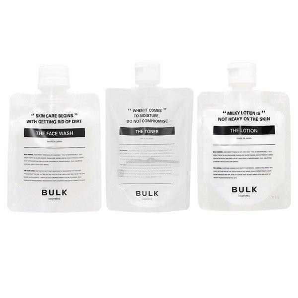 (バルクオム3点セット) バルクオム ザ・フェイスウォッシュ (洗顔料)& トナー(化粧水)& ローション(乳液)(送料無料)|beautyhair