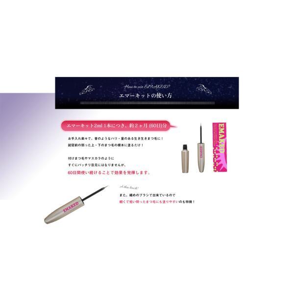 水橋保寿堂製薬 EMAKED (エマーキット) まつげ美容液  (ゆうパケット送料無料)|beautyhair|09