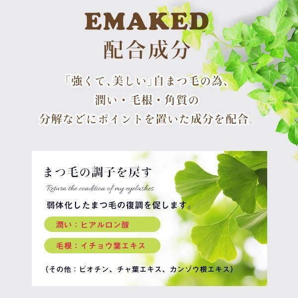 (2本セット)水橋保寿堂製薬 EMAKED (エマーキット) まつげ美容液  (ゆうパケット送料無料)|beautyhair|06