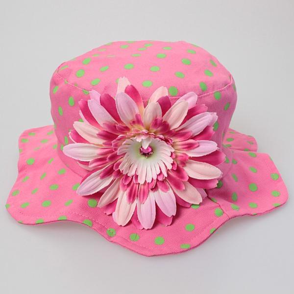 ジェイミーレイハット サンハット ベビー・キッズ サンハット Jamie Rae Hats ベビー帽子 ベビー 日よけ お花 メール便送料無料 beautyholic 04