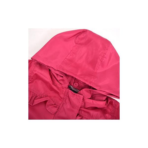 子供服 BEBE ベベ アウトレット 女の子 アウター Petits Pois Vert プチポワヴェール フリルポケット付きタフタ ジャケット ゆうパケ対象外 B-6 2280|bebe-shop|08