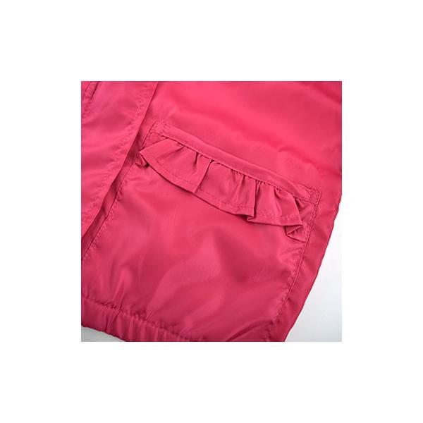 子供服 BEBE ベベ アウトレット 女の子 アウター Petits Pois Vert プチポワヴェール フリルポケット付きタフタ ジャケット ゆうパケ対象外 B-6 2280|bebe-shop|10