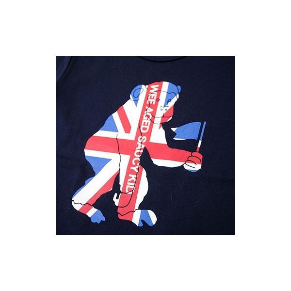 子供服 BEBE ベベ アウトレット 男の子 半袖Tシャツ WASK ワスク 天竺 アニマル ユニオンジャック 半袖Tシャツ ゆうパケット対応 B-3 2205|bebe-shop|09