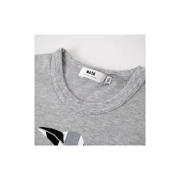 子供服 BEBE ベベ アウトレット 男の子 半袖Tシャツ WASK ワスク 天竺 アニマル ユニオンジャック 半袖Tシャツ ゆうパケット対応 B-3 2205|bebe-shop|10