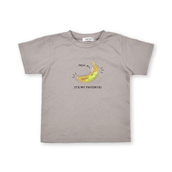 【 SLAP SLIP / スラップスリップ 】 スイカ バナナ フルーツ パッチ 半袖Tシャツ 子供服 BeBe ベベ BUZZFUZZ バズファズ アウトレット 男の子