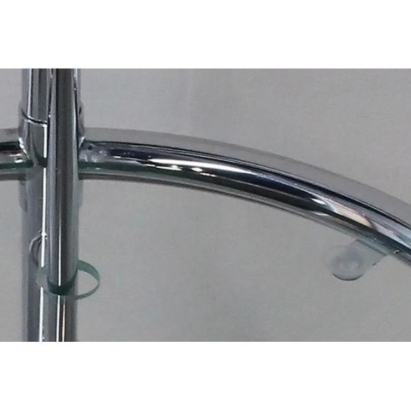 パール サイドテーブル ガラステーブル アイリーングレイ デザイナーズ リプロダクト E1027 4段階調節 モダン|bebeimport|05