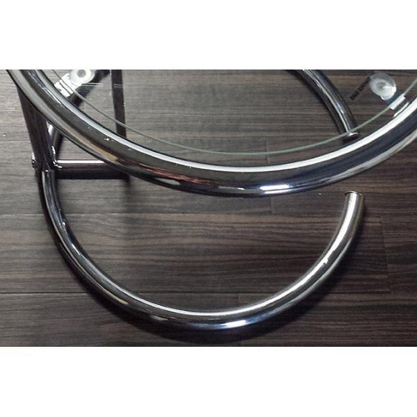 パール サイドテーブル ガラステーブル アイリーングレイ デザイナーズ リプロダクト E1027 4段階調節 モダン|bebeimport|06
