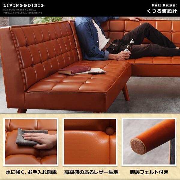 ダイニングテーブル アイアン脚 150cm×80cm 古木風 インダストリアル|bed-lukit|08