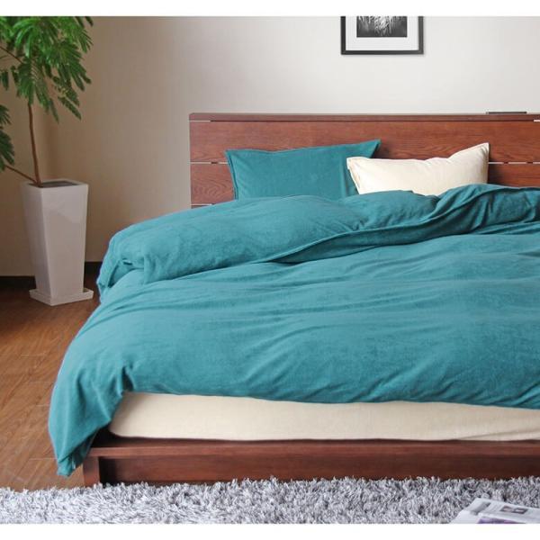 ボックスシーツ 国産シンカーパイル Cotor (コトル) ワイドダブルサイズ(150×200×35cm) |bed|11