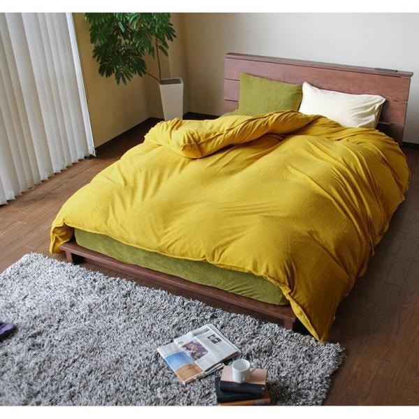 ボックスシーツ 国産シンカーパイル Cotor (コトル) ワイドダブルサイズ(150×200×35cm) |bed|10