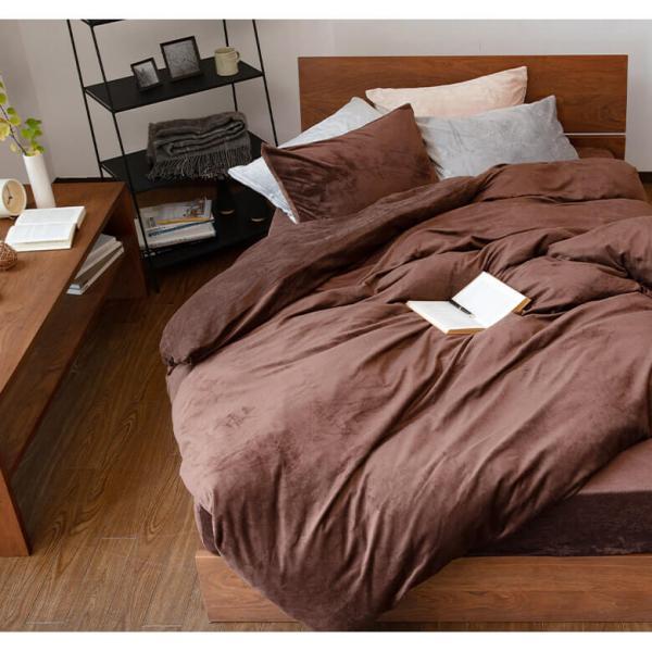 ボックスシーツ ワイドダブル マイクロファイバー 152×200×30cm あったか 冬用 シーツ 暖かい マットレスカバー ベッドシーツ ベットシーツ 静電気防止|bed|03
