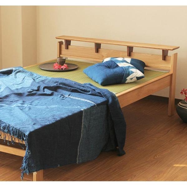 国産畳ベッド(セミダブル) しきぶ-shikibu- 組立設置付|bed|03