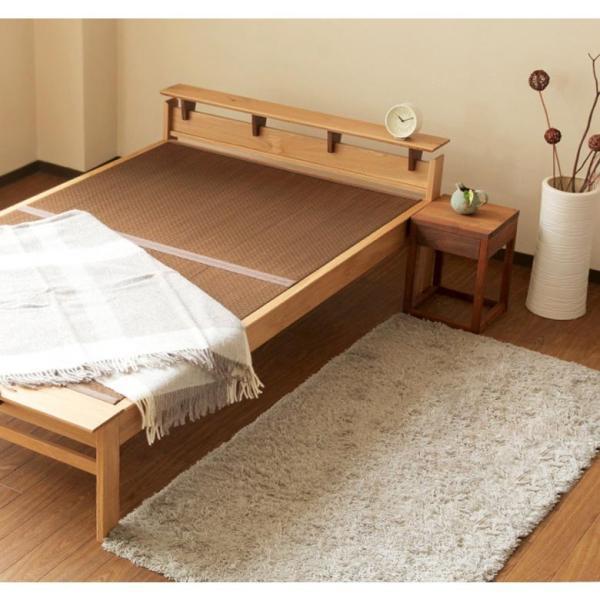国産畳ベッド(セミダブル) しきぶ-shikibu- 組立設置付|bed|05