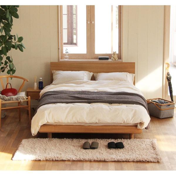 ダブルベッド ダブルベット グランデール ナチュラル ダブル 木製ベッド マットレス別売り 組立設置無料  フレーム|bed|05