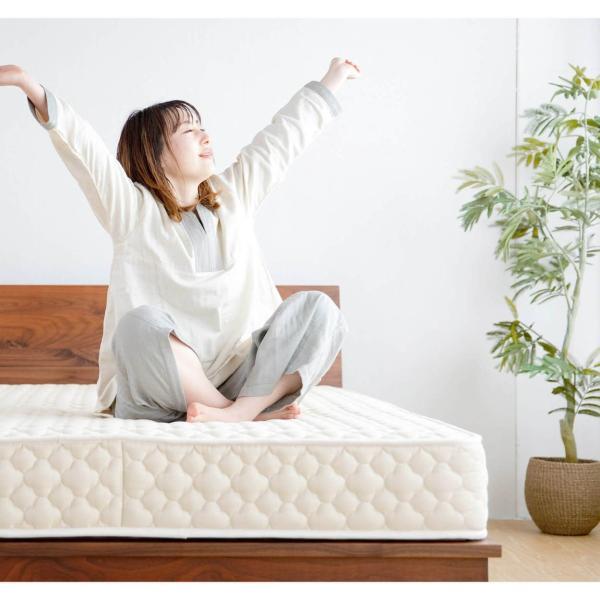ポケットコイルマットレス クイーンロング (80cm×207cm)×2枚|bed|06