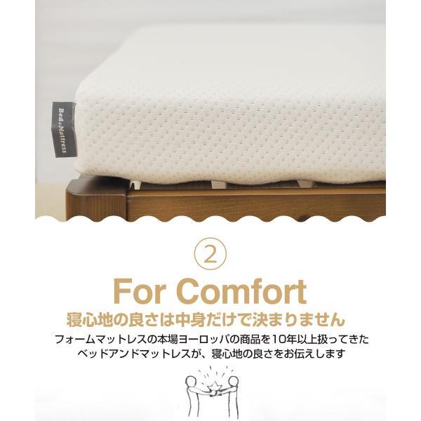 マットレス シングル 高反発 ベッド 10cm ウレタンマットレス ノンスプリング|bedandmat|05