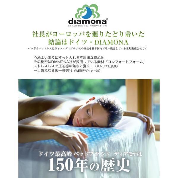 枕 まくら NSKラテックス ディアモナ コンフォートフォーム(安眠 快眠) 枕(枕NSKラテックス|bedandmat|02