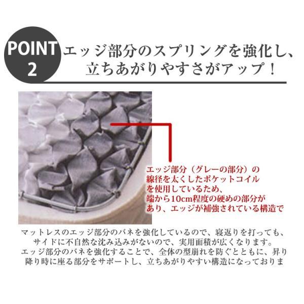 日本ベッド シルキーポケット レギュラー シングル マットレス ポケットコイル ベッド用 11209|bedandmat|05
