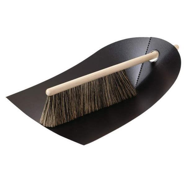 ほうきとちりとりのセット デンマークの日用品  Dustpan & Broom ブラック