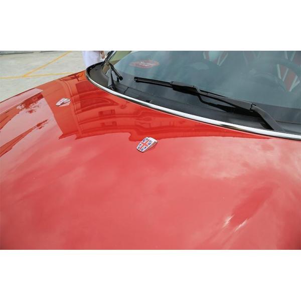 BMW MINI ウォッシャー ノズル カバー ブラックユニオンジャック×メッキ 2個セット ミニクーパー MINI COOPER カスタムパーツ アクセサリー 外装 ドレスアップ|beetech-japan|04