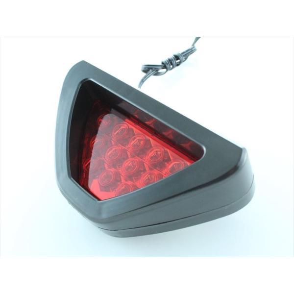 F1風 テールランプ LED 12発 汎用 F1テール F1バックランプ F1マーカー 点滅 ブレーキランプ フォグランプ リフレクター beetech-japan 02