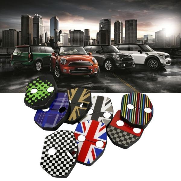BMW MINI ミニ ドアストライカーカバー R系用  2個セット ミニクーパー COOPER ヒンジ カバー ヒンジカバー R55/R56/R57/R58/R59 カスタムパーツ アクセサリー|beetech-japan