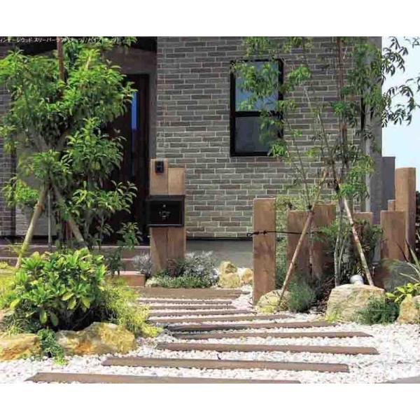 枕木 コンクリート製枕木 ヴィンテージウッドスリ-パ-ラフト1800H(1枚)電線保護管入仕様(180×20×9cm)
