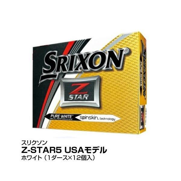 ゴルフボールDUNLOPダンロップスリクソンZ-STAR5USAモデル1ダース12個入ホワイト_4907913078903_91