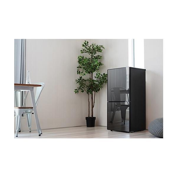 冷蔵庫 霜取り不要 ツインバード  HR-EJ11B 2ドア冷凍冷蔵庫 110L ミラーデザイン TWINBIRD おしゃれ|beisiadenki