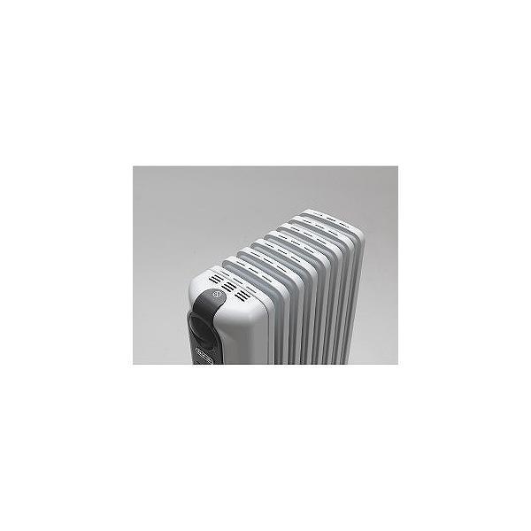 デロンギ DeLonghi オイルヒーター 8畳〜10畳 ピュアホワイト+ダークグレイ RHJ35M0812 DG|beisiadenki|03