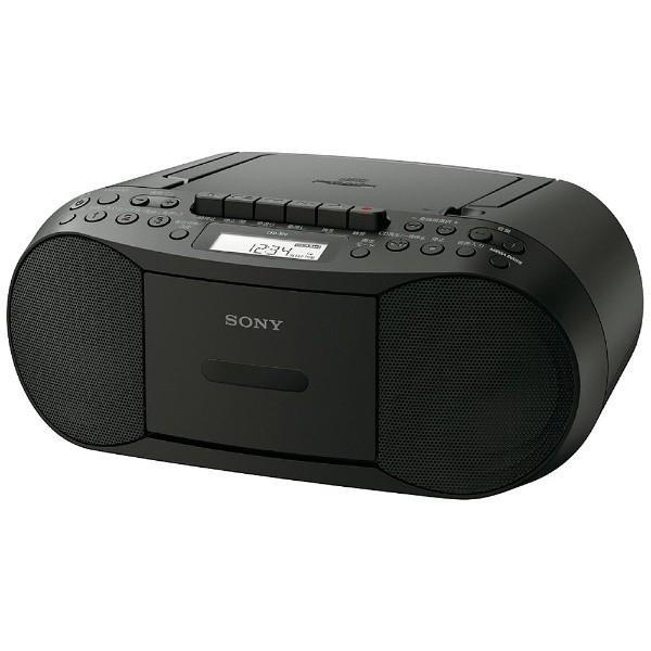 CDラジカセ ブラック ソニー CFD-S70 :4548736026537:Bサプライズ ...
