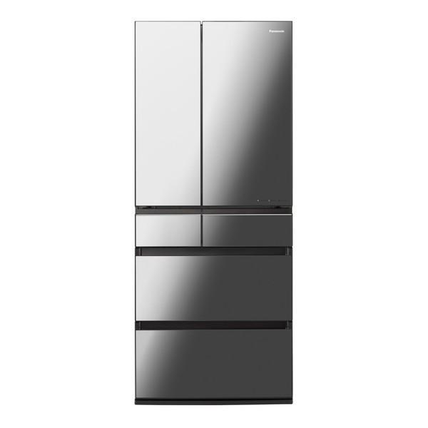 6ドア冷蔵庫 650L オニキスミラー  パナソニック NR-F655WPX|beisiadenki