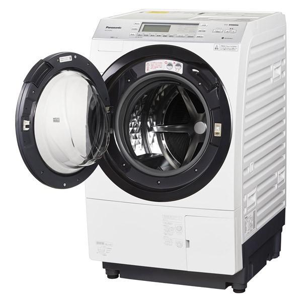 ドラム式洗濯乾燥機 [パワフル滝コース新搭載] クリスタルホワイト【洗濯10.0kg/乾燥6.0kg/左開き】 パナソニック NA-VX700AL|beisiadenki|02