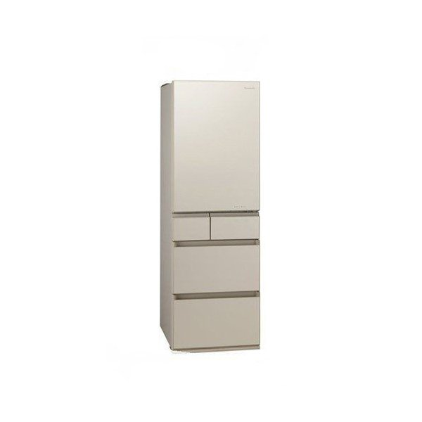 冷蔵庫 サテンゴールド 5ドア 左開きタイプ 450L パナソニック NR-E455PXL beisiadenki
