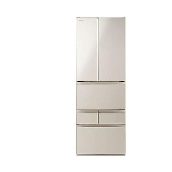 冷蔵庫 サテンゴールド 6ドア 観音開きタイプ 509L 東芝 GR-R510FK|beisiadenki