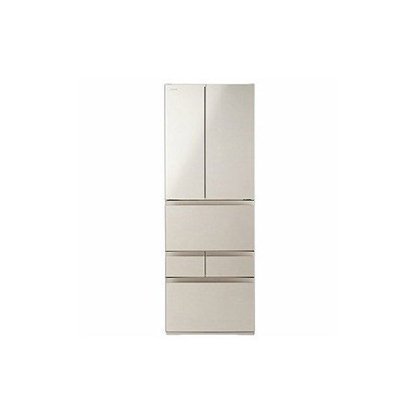 冷蔵庫 462L フレンチドア 6ドア FKシリーズ サテンゴールド 東芝 GR-R460FK|beisiadenki
