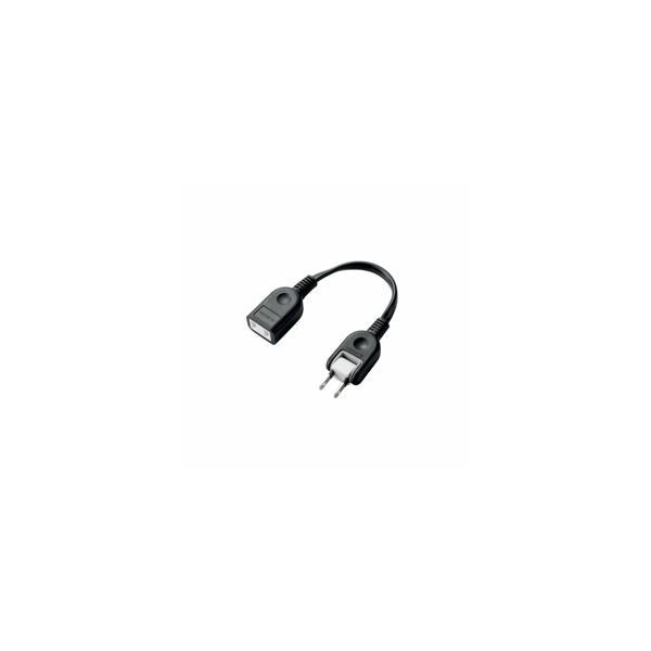 エレコム ACアダプタ用電源延長コード(1個口) T-ADR1BK